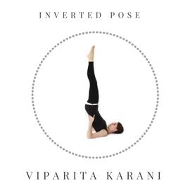 Inverted pose – Viparita Karani