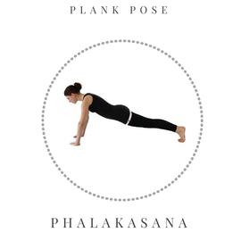 Plank pose - Phalakasana