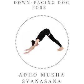 Down-facing Dog pose - Adho Mukha Svanasana