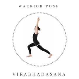Warrior pose – Virabhadasana