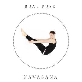 Boat pose - Navasana